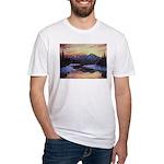Winter sunset scene T-Shirt