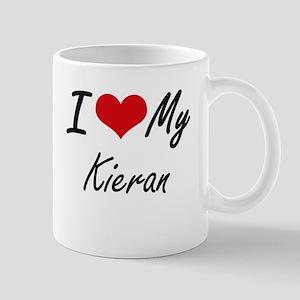 I Love My Kieran Mugs