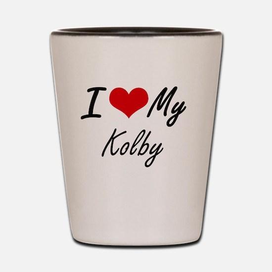 Funny Kolby Shot Glass
