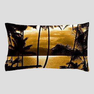 Tropical Sunset Pillow Case