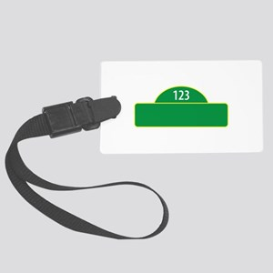 Child Street Sign Luggage Tag