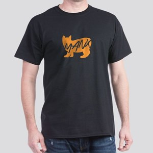 Manx Cat (Orange) T-Shirt