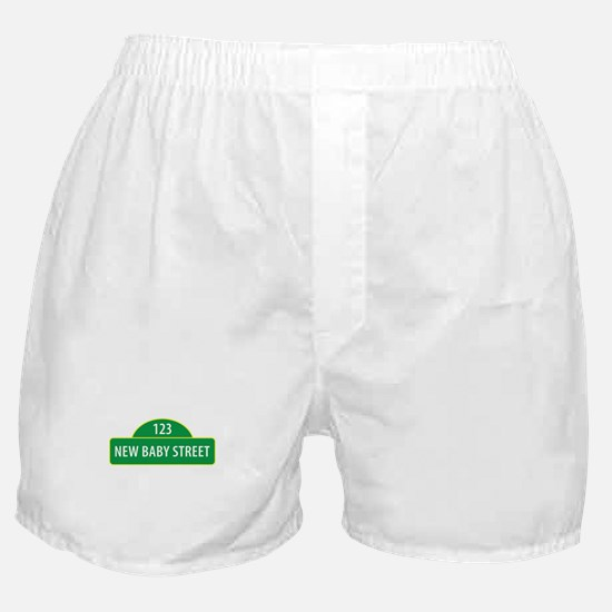 New Baby Street Boxer Shorts