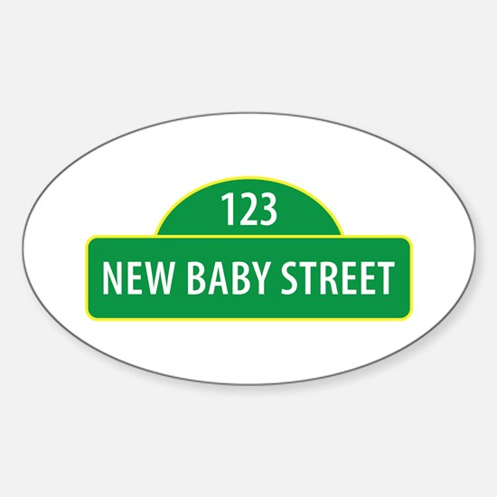 New Baby Street Decal
