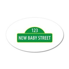 New Baby Street Wall Decal
