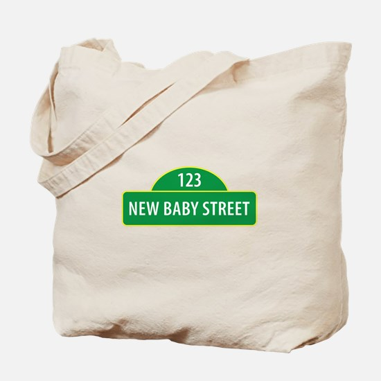 New Baby Street Tote Bag