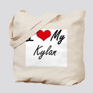 I Love My Kylan Tote Bag