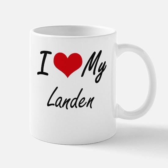 I Love My Landen Mugs