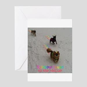 Rainbow Squad Greeting Cards