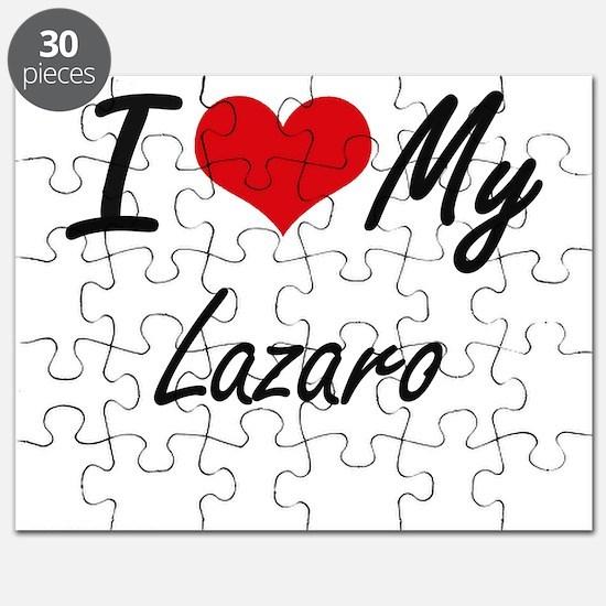 I Love My Lazaro Puzzle