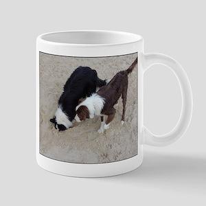 Digging Collies Mugs