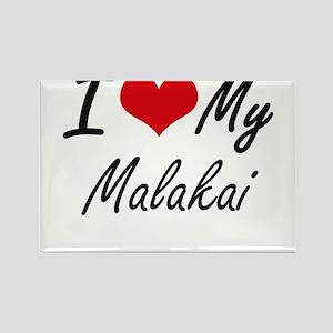 I Love My Malakai Magnets