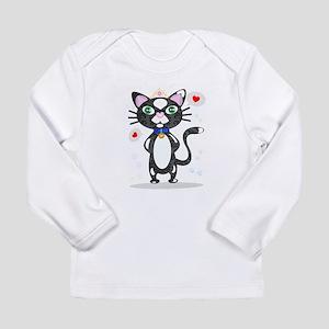 Princess Tuxedo Cat Long Sleeve T-Shirt