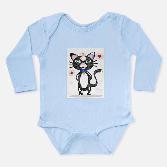 Princess Tuxedo Cat Body Suit