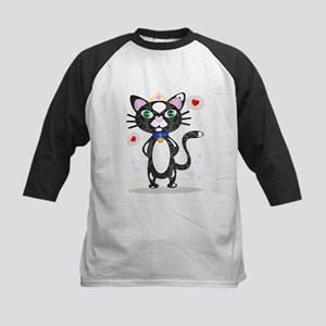 Princess Tuxedo Cat Baseball Jersey