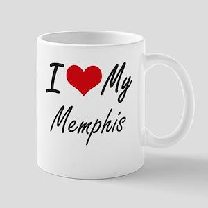 I Love My Memphis Mugs