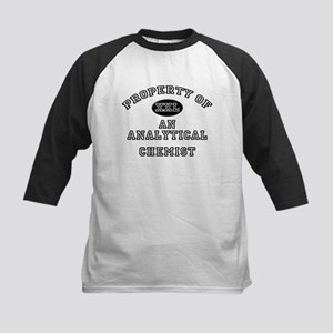 Property of an Analytical Chemist Kids Baseball Je