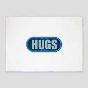 HUGS 5'x7'Area Rug