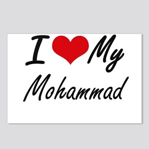 I Love My Mohammad Postcards (Package of 8)