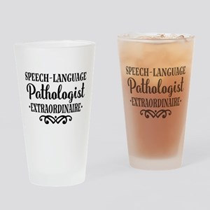 Speech Language Pathologist Drinking Glass