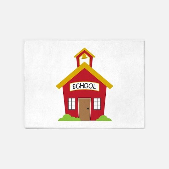 School House 5'x7'Area Rug