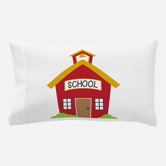 School House Pillow Case