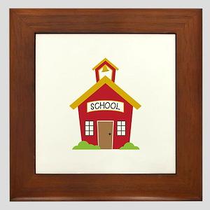 School House Framed Tile