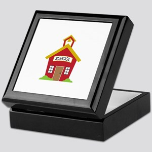 School House Keepsake Box