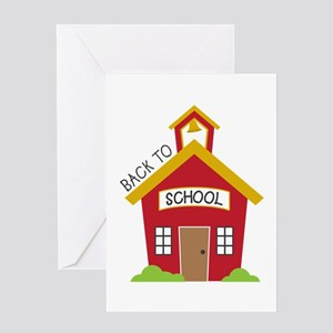Back To School Greeting Cards