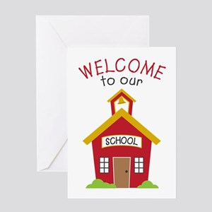 Welcome To School Greeting Cards