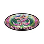 Namaster Tree of Life Peace Symbol Patch
