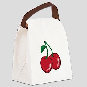 Cherries Canvas Lunch Bag