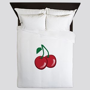 Cherries Queen Duvet