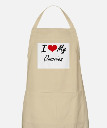 I Love My Omarion Apron