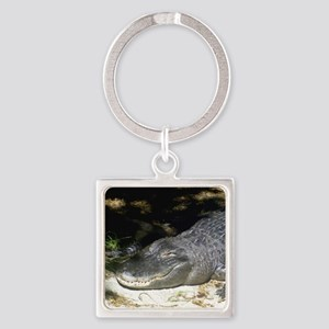 Alligator Sunbathing Keychains