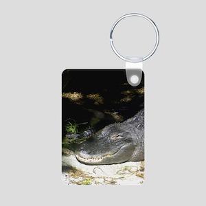 Alligator Sunbathing Keychains