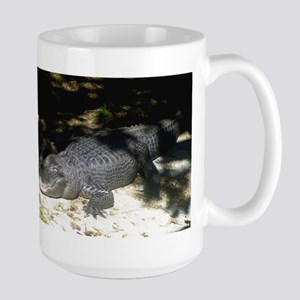 Alligator Sunbathing Mugs