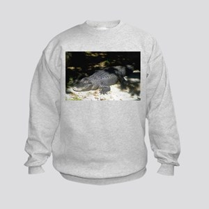 Alligator Sunbathing Sweatshirt