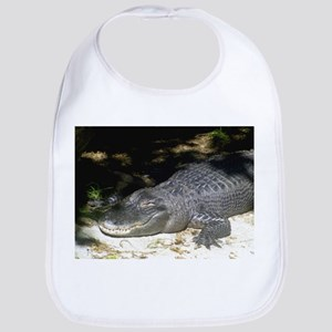 Alligator Sunbathing Bib