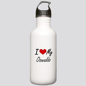 I Love My Oswaldo Stainless Water Bottle 1.0L