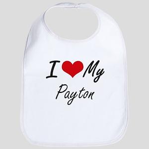 I Love My Payton Bib