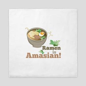 Ramen Is Amasian Queen Duvet
