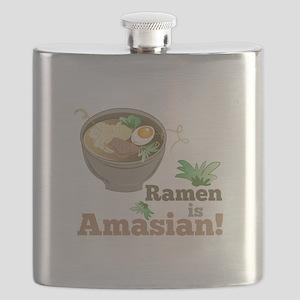 Ramen Is Amasian Flask