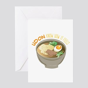 Udon Know Greeting Cards