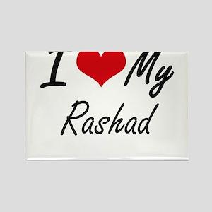 I Love My Rashad Magnets
