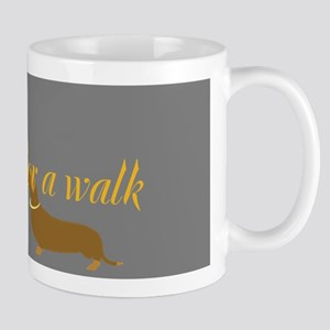 Cute Dog Walker Mug