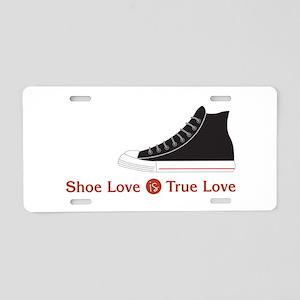 Shoe Love Aluminum License Plate