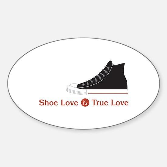 Shoe Love Decal