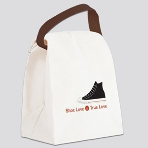 Shoe Love Canvas Lunch Bag