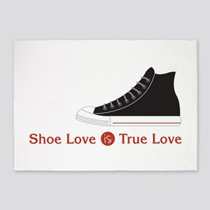 Shoe Love 5'x7'Area Rug